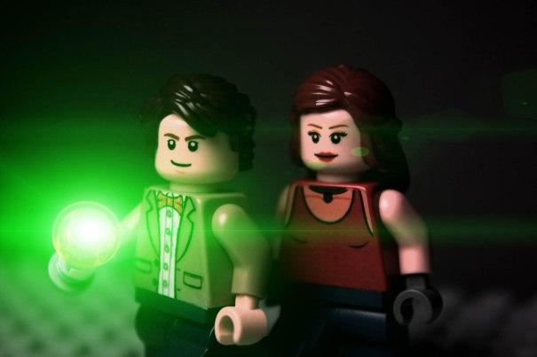 Custom Doctor Who Minifig